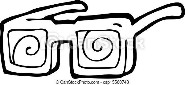 Cartoon X Ray Glasses