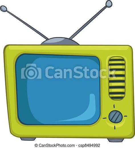 Cartoons TV - csp8494992