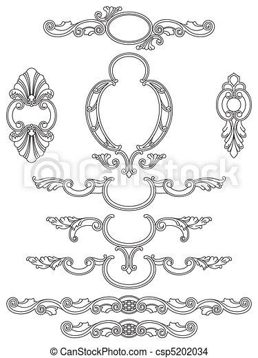Cartouches collection - csp5202034