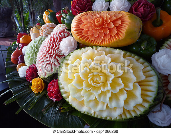 Carved Fruit - csp4066268