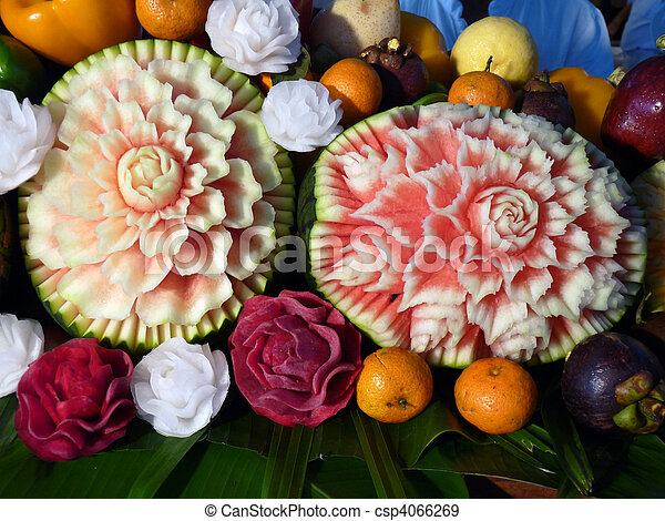 Carved Fruit - csp4066269
