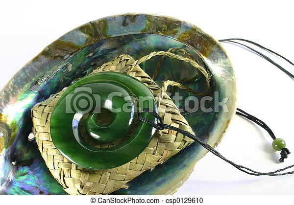 Carved Jade Pendant - csp0129610