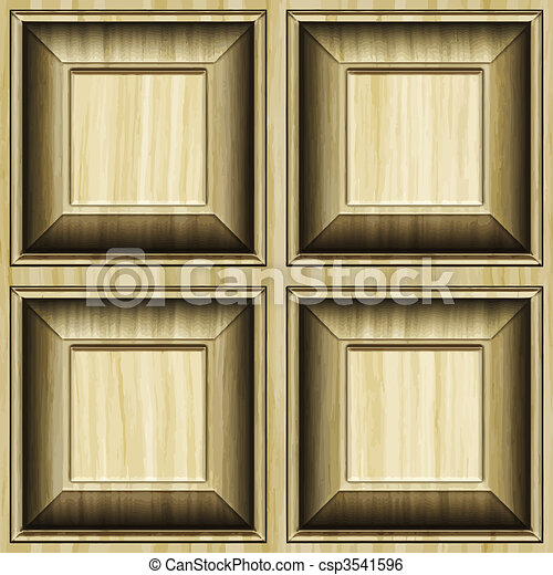 carved wood pattern background - csp3541596