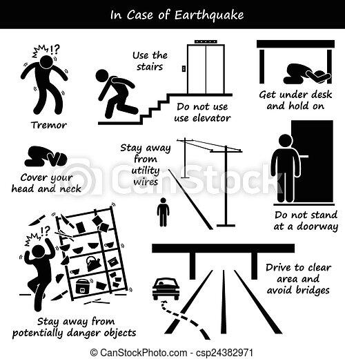 cas, séisme - csp24382971