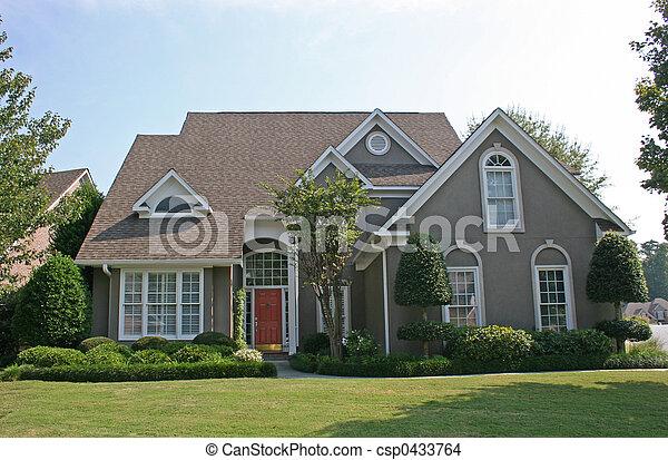 casa, 2, stucco - csp0433764