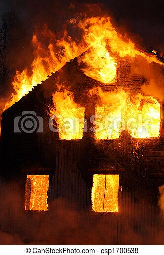 casa, abrasador - csp1700538