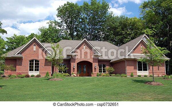 casa, agradável - csp0732651
