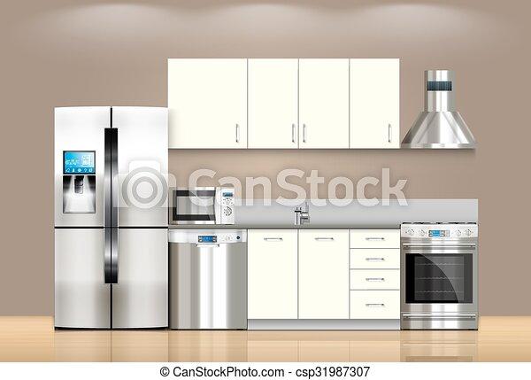 Cocina y electrodomésticos - csp31987307