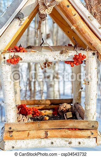 Casa para los pájaros - csp34543732
