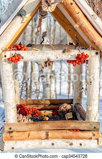 Casa para los pájaros - csp34543728