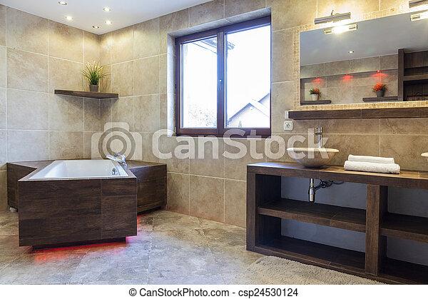 Bagno Marrone Moderno : Casa bagno moderno marrone interno marrone bagno moderno casa