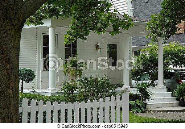casa, bianco - csp0515943
