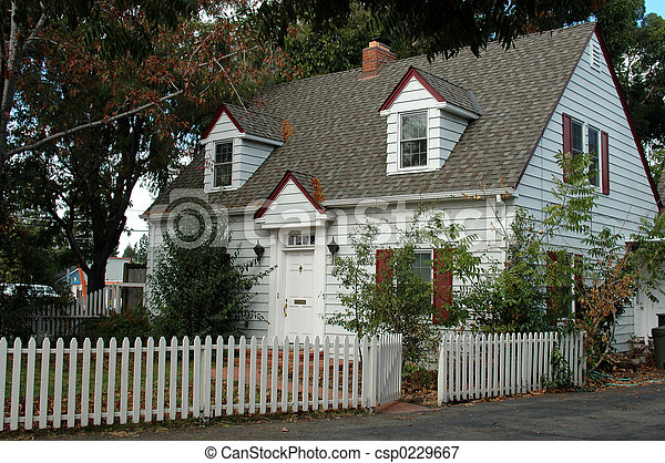 casa, bianco - csp0229667