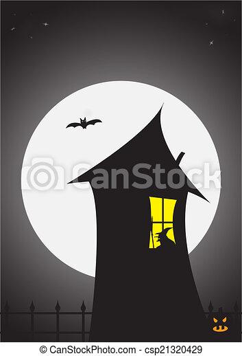 Casa de brujas - csp21320429