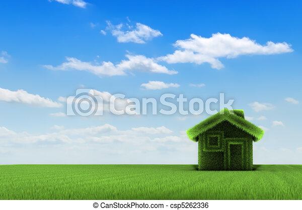 casa, campo - csp5262336