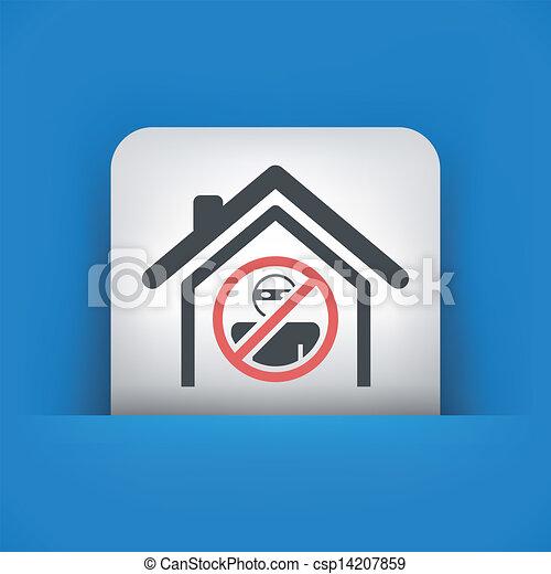 El icono de la Casa de Protección - csp14207859