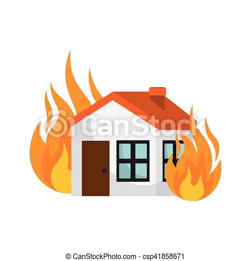 El icono del concepto de seguro de la casa - csp41858671