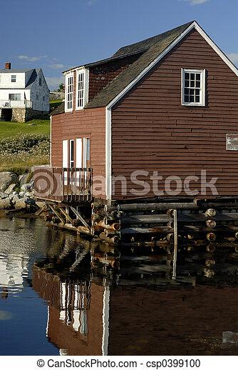 Casa costiero costruito casa costa porto canada 39 s for Piani casa artigiano canada