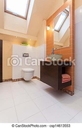 Casa elegante, baño - csp14613553