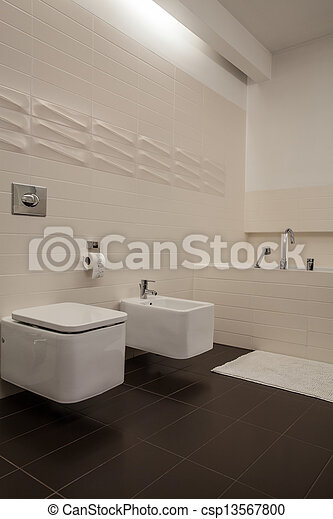 Casa Travertine, baño - csp13567800