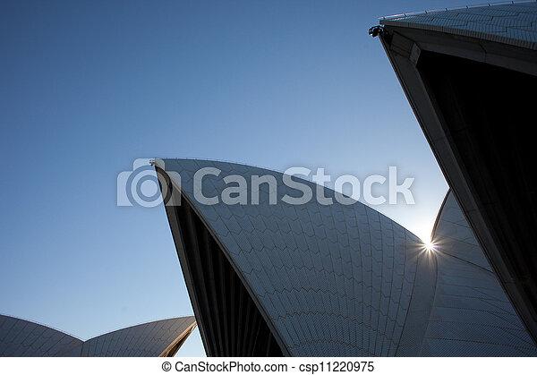 La vista de la ópera de Sydney - csp11220975