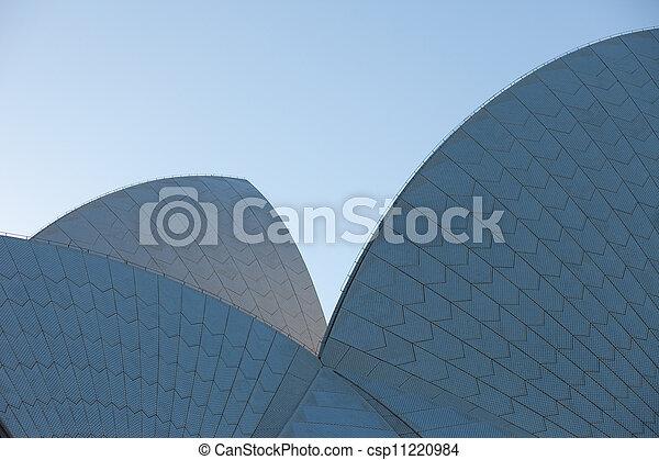 La vista de la ópera de Sydney - csp11220984