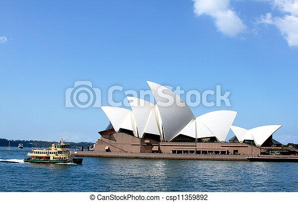La ópera de Sydney - csp11359892