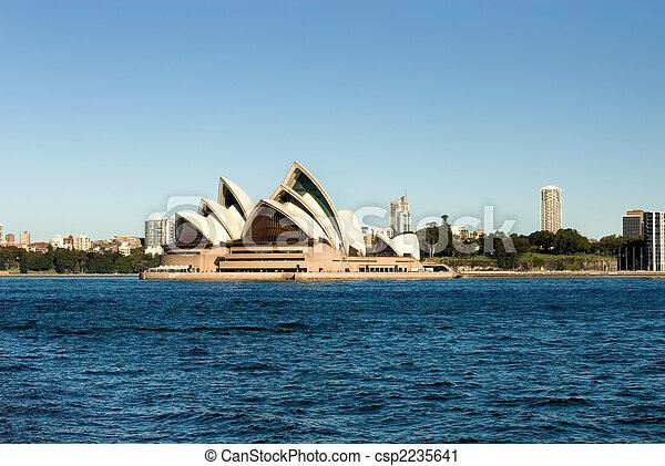 La ópera de Sydney - csp2235641