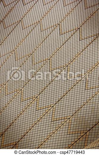 Los azulejos de la Opera. - csp47719443