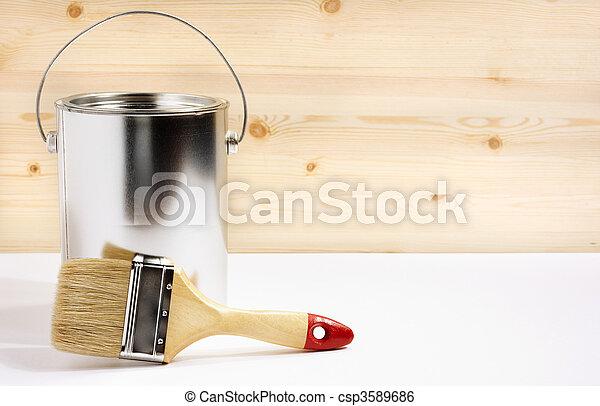 Un concepto de decoración - csp3589686