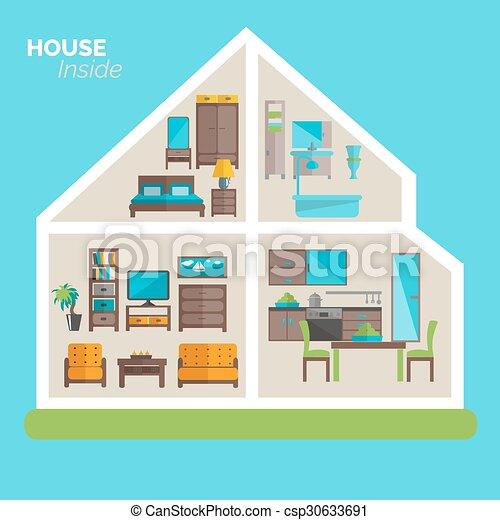 Casas De Diseo Por Dentro Amazing Casa Dentro Ideas Moblaje Cartel