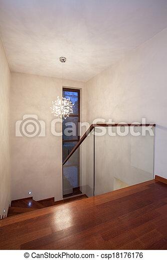 Casa Travertine, escaleras - csp18176176
