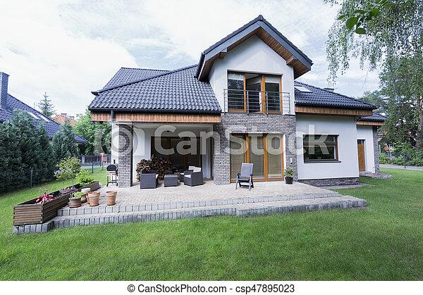 Casa Espacioso Jardín Terraza