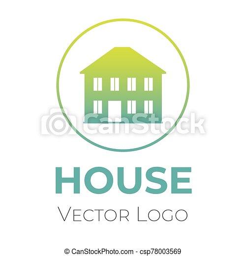 casa, hogar, compañía, vector, template., interior, venta, logotipo, diseño, diseño, símbolo., construcción - csp78003569