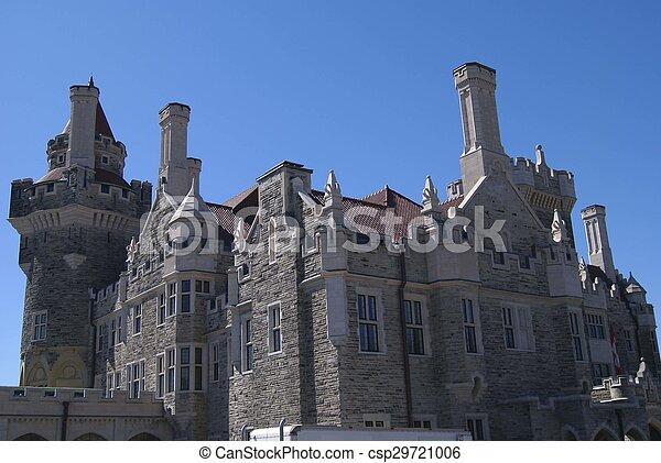 Casa Loma Castle In Toronto Canada