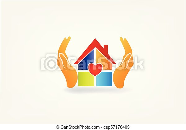 Macu Casa-m%C3%A3os-logotipo-cliparte-vetor_csp57176403
