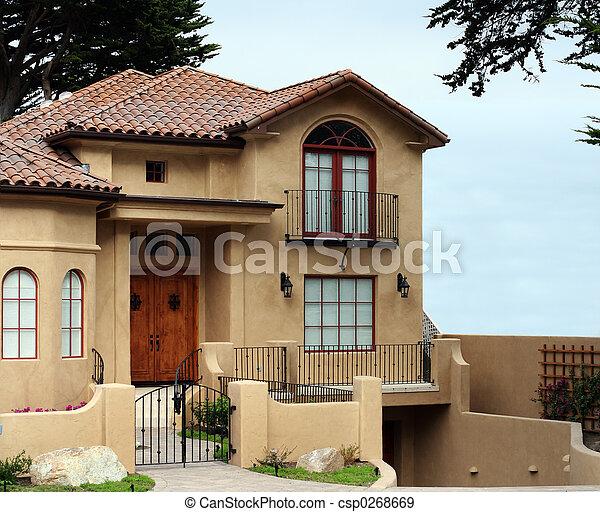 casa, moderno - csp0268669