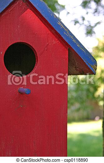 Casa de aves - csp0118890