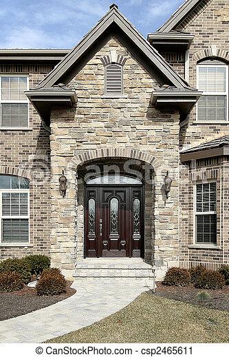 casa, pietra, lusso - csp2465611
