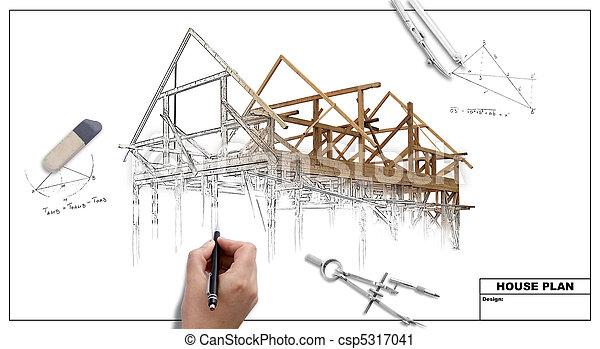 Plan de la casa - csp5317041