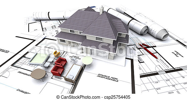 Planificación de futuras casas - csp25754405