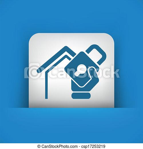 casa, proteção - csp17253219