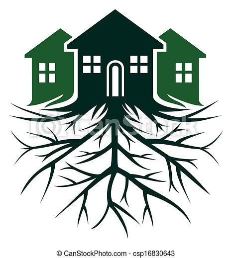 casa, raiz - csp16830643