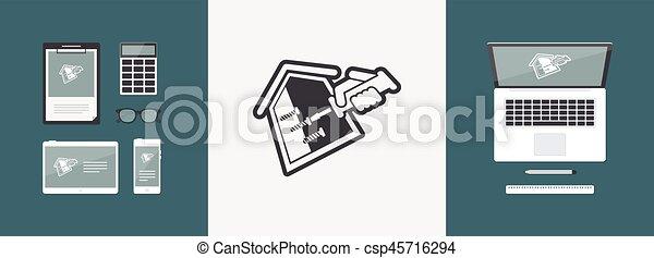 Reparación de la casa - csp45716294