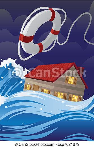 Seguro de casa - csp7621879