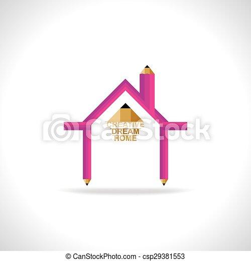 casa, sogno - csp29381553