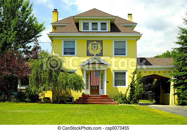 Casa stucco stile foto esso francese stucco home for Piani di casa francese in tudor