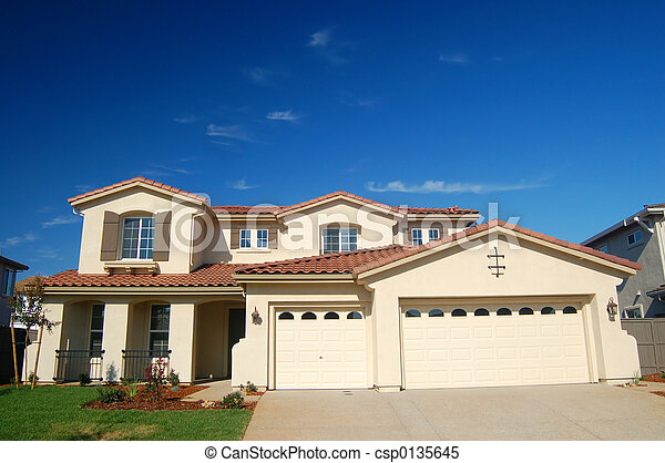 casa, suburbano - csp0135645