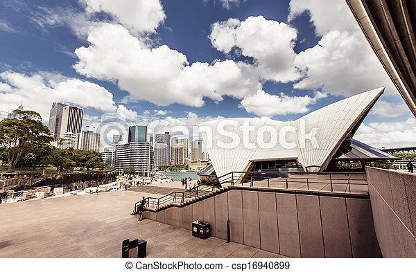 Sydney Opera House - csp16940899