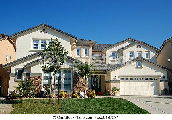 casa, upscale, califórnia - csp0197591